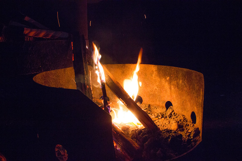Green Point Campground Campfire