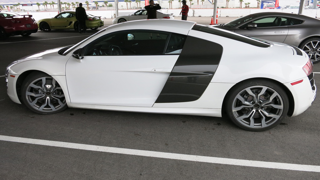 Exotics Racing white Audi R8