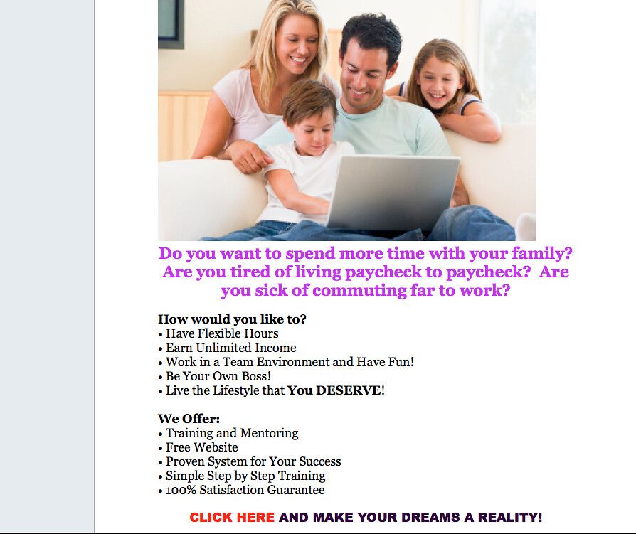 work at home appointment setters