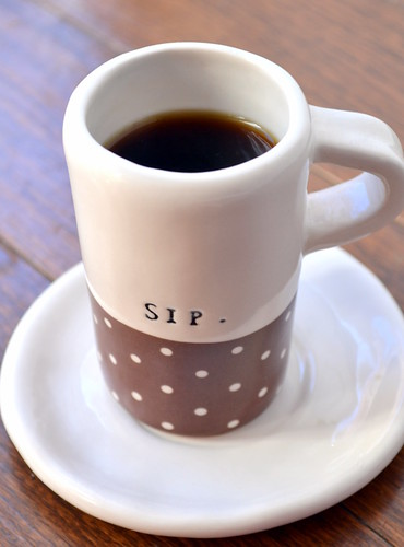 sip espresso shot glass