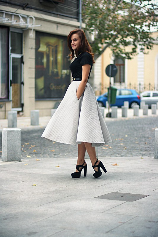h&m full midi skirt 2