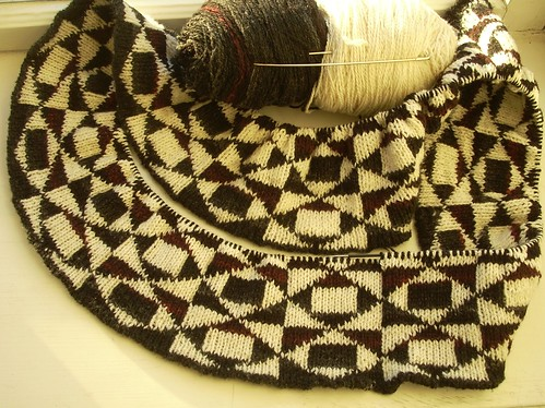 Double-knitted cowl by Asplund