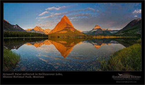Mountain Reflection at Glacier National Park