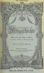 """British Library digitised image from page 833 of """"Weltgeschichte ... Dritte verbesserte Auflage. (Fortgesetzt von Dr. Richard V. Kralik, Bd. 23, etc.)"""""""