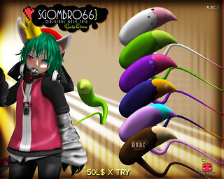 Sgombro66 original mesh tail gacha edition @ J&A