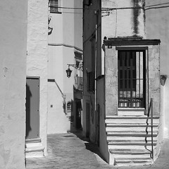 Puglia. Walls and Stairs.