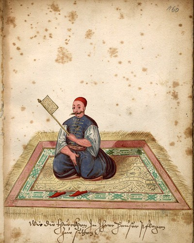 020-Turco sentado en una alfombra-Türkisches Manierenbuch-1595- ORKA Open Repository Kassel