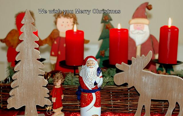 Frohe Weihnachten euch allen hier ...