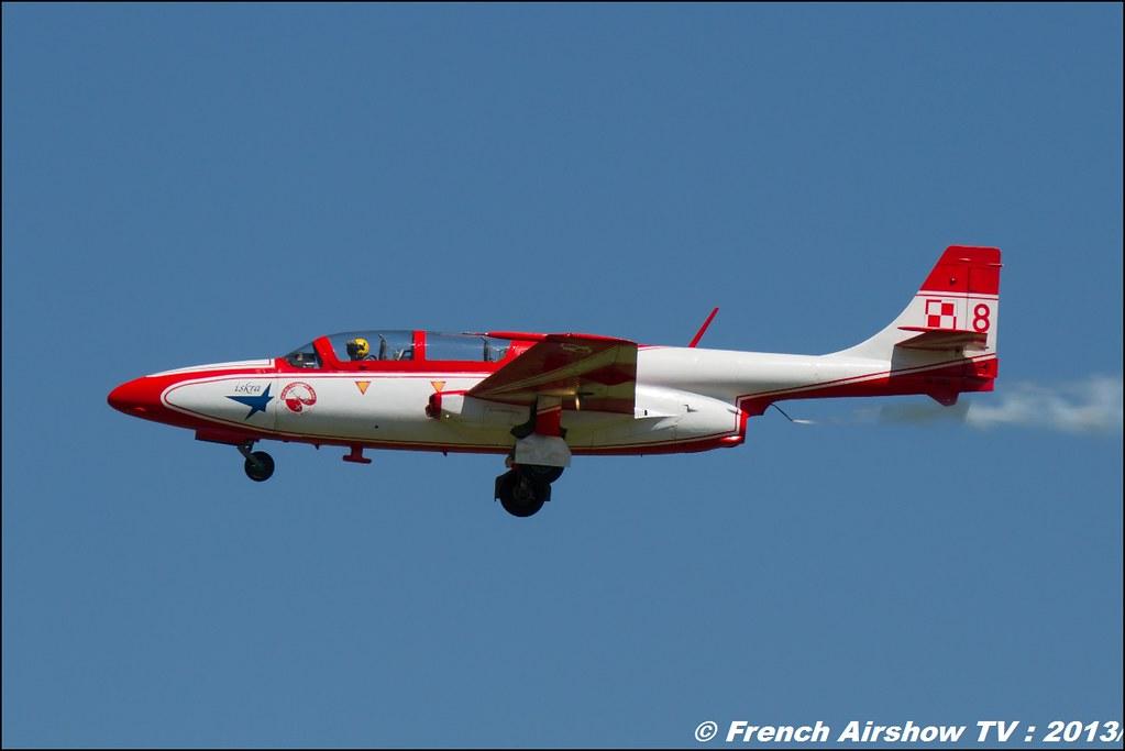 Team Iskra ,60 ans Patrouille de France , Meeting Aerien 2013