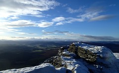 South-west-south view from Ben Rinnes summit