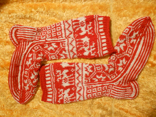 два носка готовы вместе