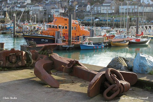 Newlyn Harbour, Cornwall by www.stockerimages.blogspot.co.uk