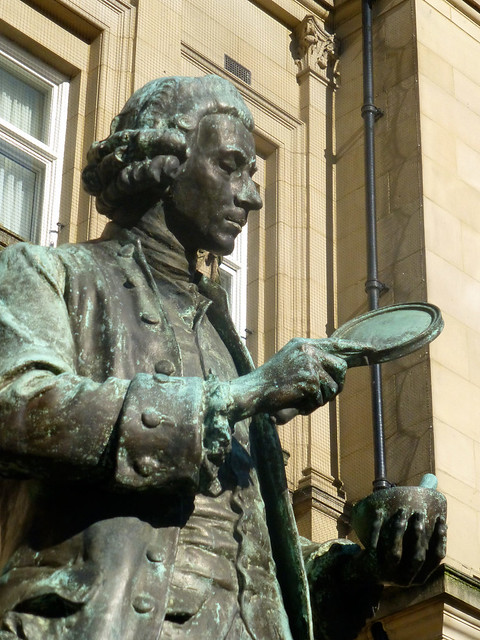 Joseph Priestley, City Square, Leeds, West Yorkshire