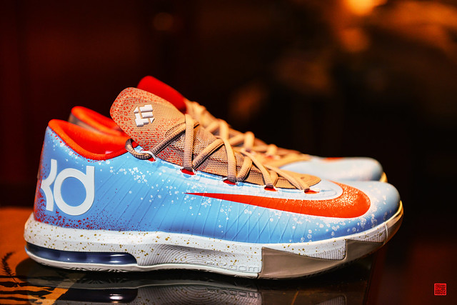 Kd Shoes Blue And Purple