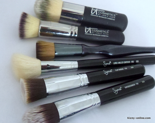 favorite brush brushes face sigma it cosmetics sonia kashuk