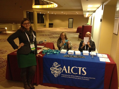 At the ALCTS Member Reception