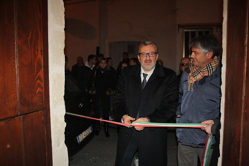 Michele Emiliano e Franco Mancini inaugurano la sede del Movimento