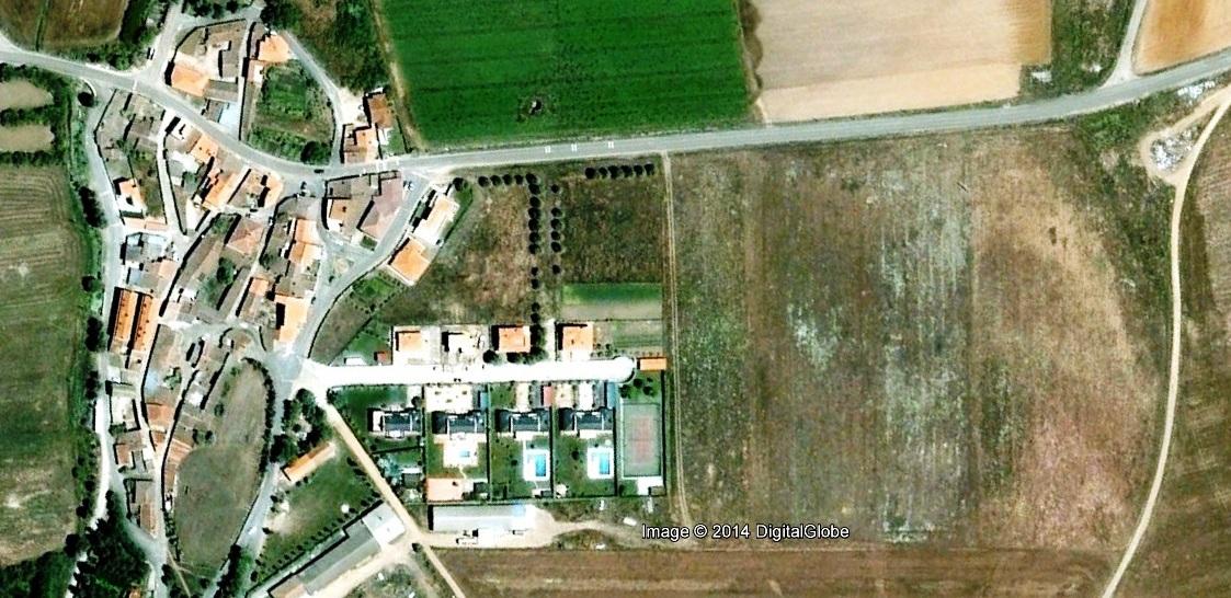 antes, urbanismo, foto aérea, desastre, urbanístico, planeamiento, urbano, construcción,Florida de Liébana, Salamanca