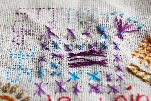 TAST #33 Sheaf Stitch