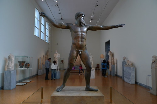 Poseidon - National Archaeological Museum of Athens, Greece