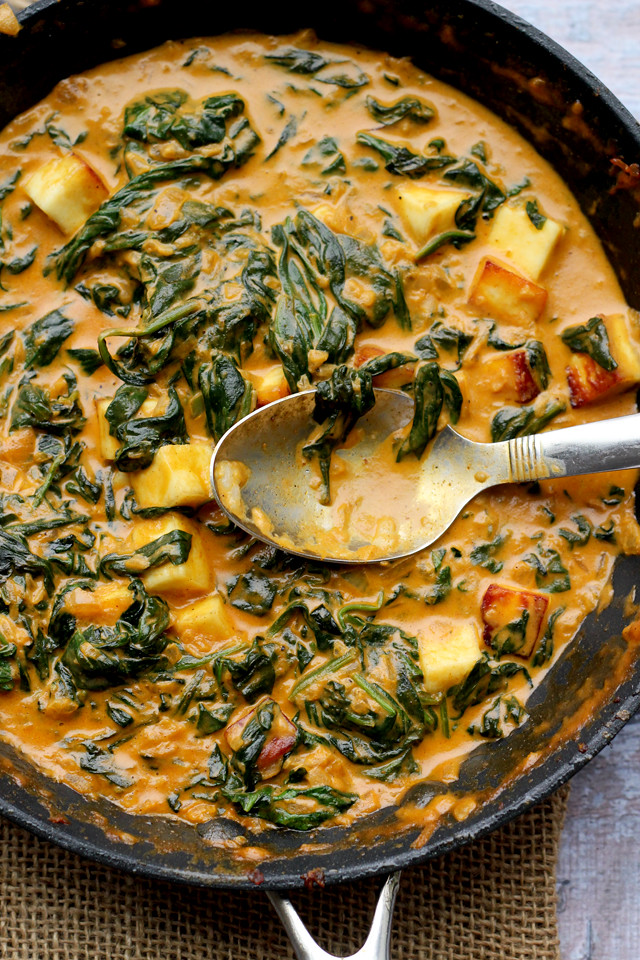 Saag Paneer | Joanne Eats Well With Others