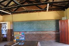 Mqolombeni Primary School - classroom