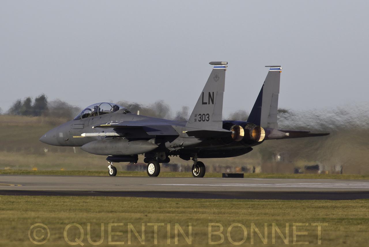 USAF McDonnell Douglas F-15E LN 91-312