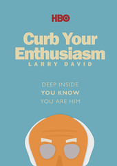 Curb Your Enthusiasm - HBO Tv Show with Larry David - Poster