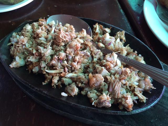 Pork sisig - Leslie's Restaurant