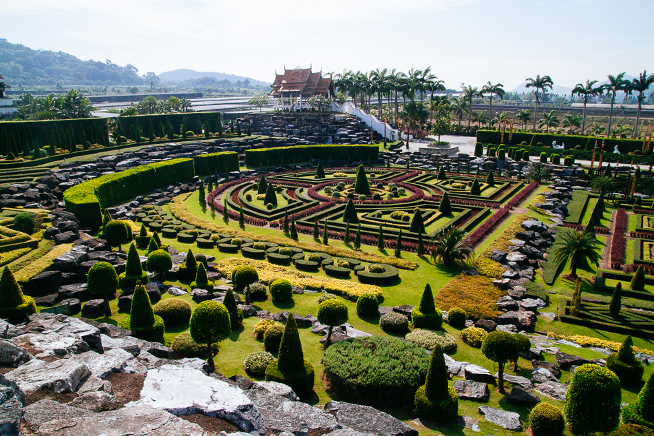 French Garden, Nong Nooch Garden, Pattaya
