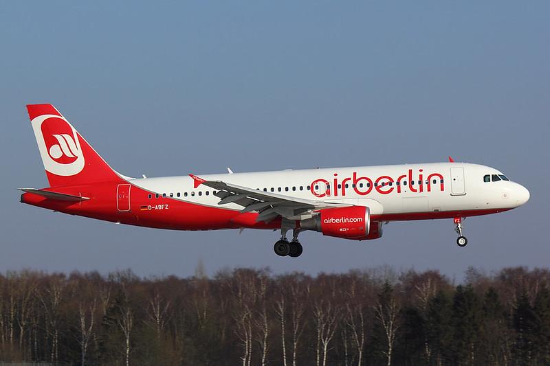 Air Berlin - A320 - D-ABFZ