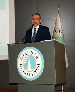 Üsküdar Üniversitesi Milli Eğitim Eski Bakanı Ömer Dinçer'i ağırladı
