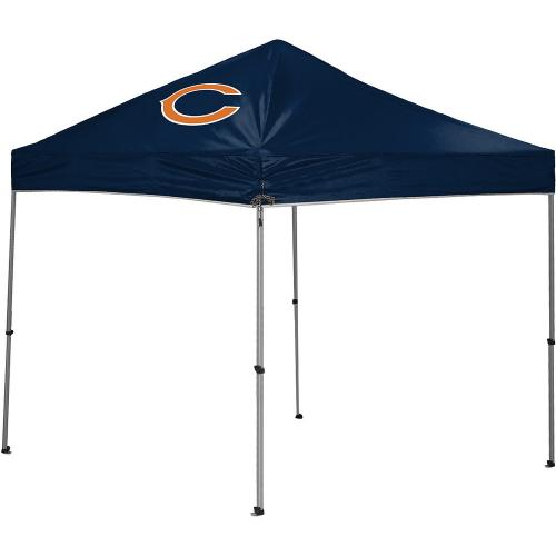 Chicago Bears TailGate Straight Leg Canopy, 9' x 9'