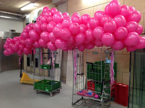 Heliumballonnen bedrukt New Babylon Den Haag
