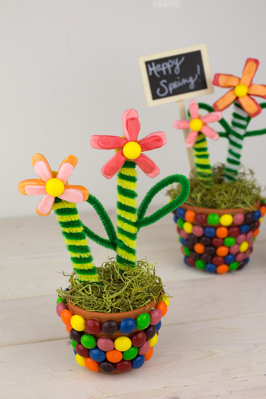 Spring Flower Pot Teacher Gifts #Shop #VIPFruitFlavors