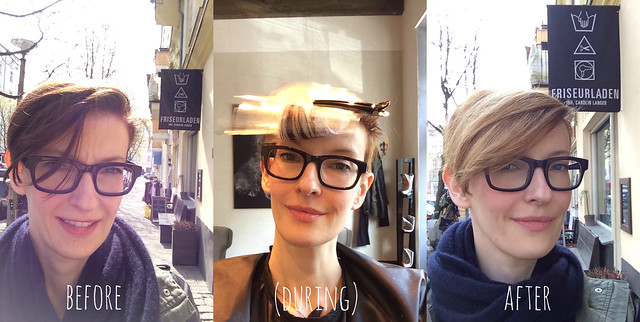 kate wirth_new spring hair color_ brunette to blonde_before during after