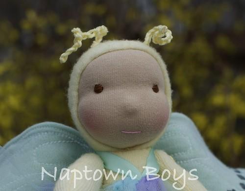 """Brooke, 9"""" Napling Butterfly"""