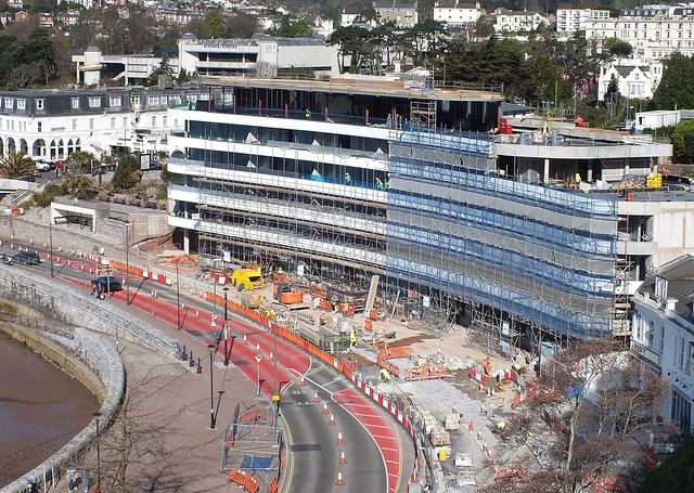 New Abbey Sands Complex Torquay - Progress March 2013