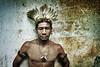 Mbya-Guarani Chieftain by carf