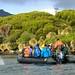 Zodiac Cruising Landscape Perseverance Harbour Campbell Island Subantarctic New Zealand UNESCO World Heritage Status Nature Reserve
