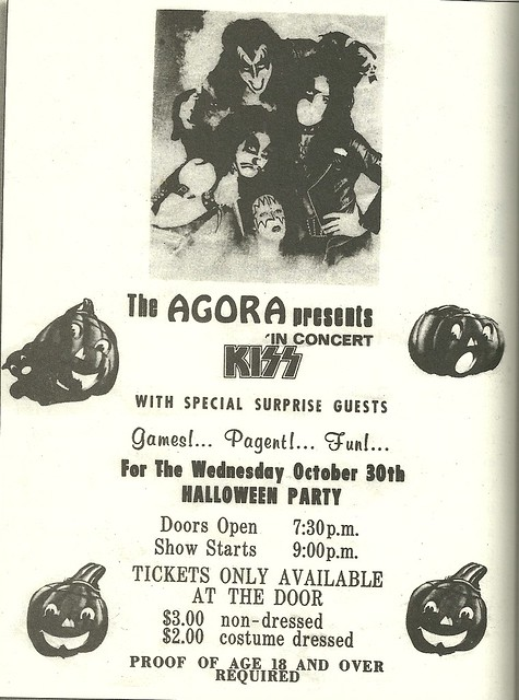 10/30/74 Kiss/ If @ The Agora, Columbus, OH