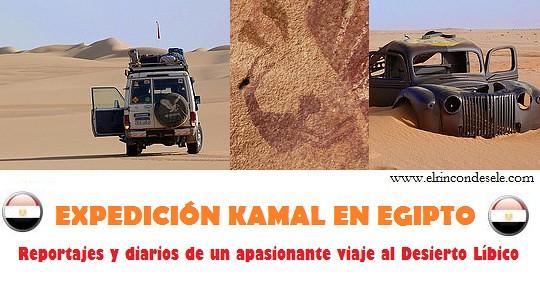 Relatos del viaje al Desierto Líbico (Egipto)