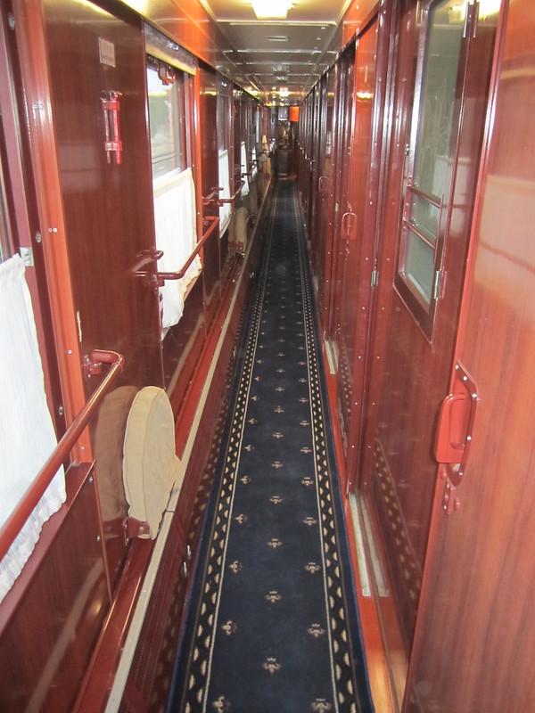 Transsibérien - Dans le train - 1ère classe