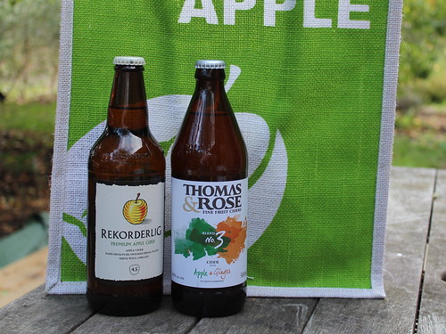 Hawkes Bay bonding trip goodies - apple cider