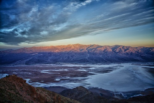 Death Valley Dante's View Sunrise