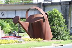 Sculpture in Staunton, VA