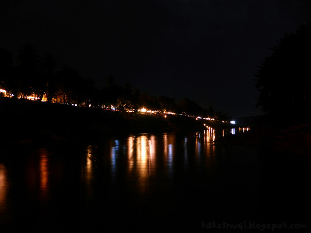 Luang Prabang Nam Khan at Night