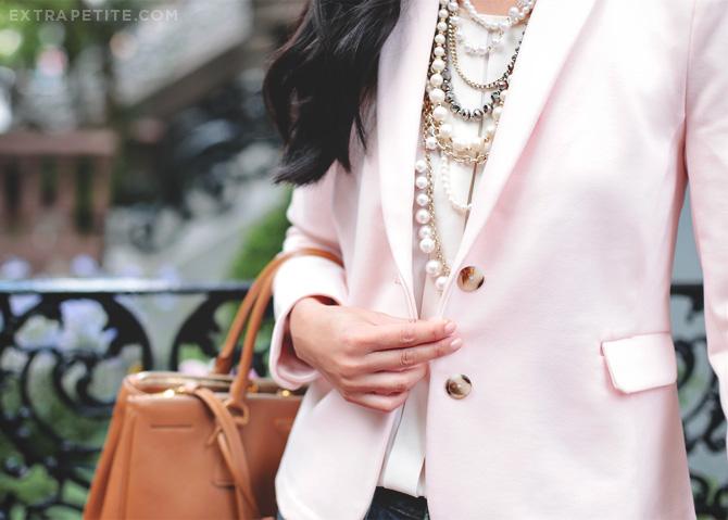 pink blazer boyfriend jeans5