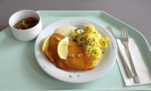 Schollenfilet & Kartoffelsalat