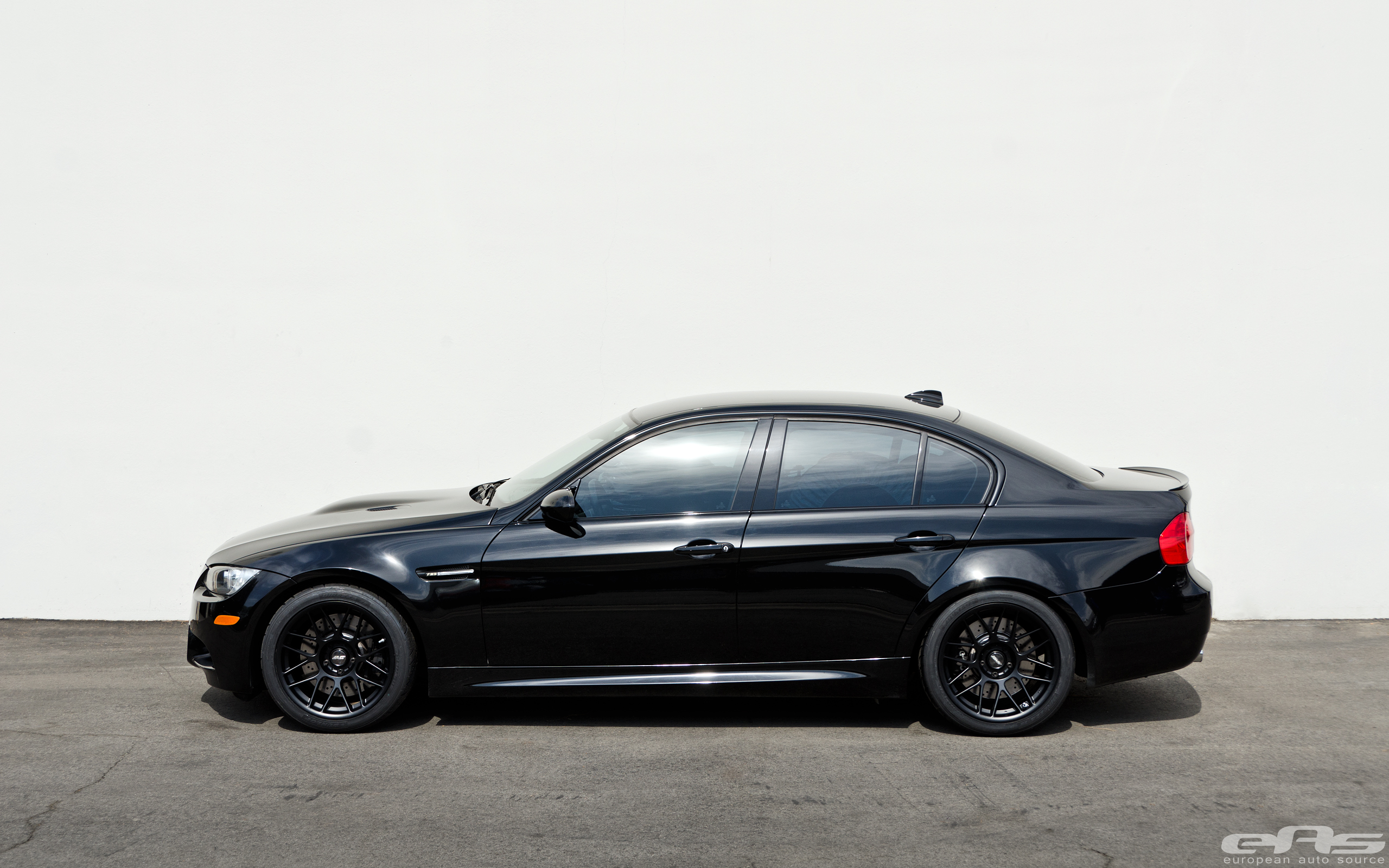 black bmw m3 sedan. black arc8 wheels on a m3 sedan bmw